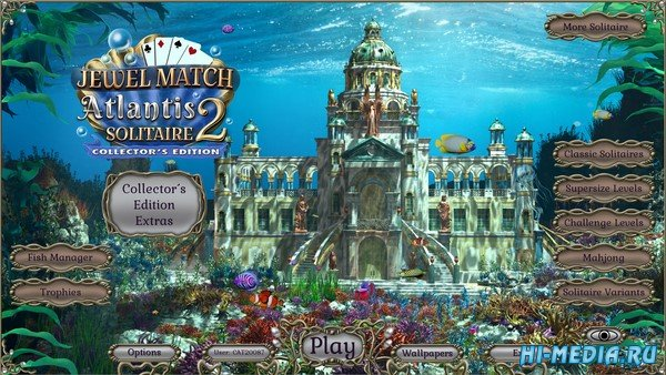 Jewel Match Atlantis Solitaire 2 Collectors Edition (2021) ENG