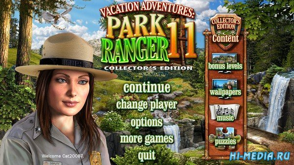 Vacation Adventures: Park Ranger 11 Collectors Edition (2021) ENG