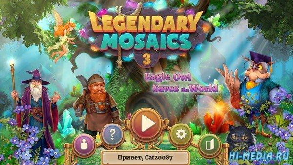 Legendary Mosaics 3: Eagle Owl Saves the World (2021) RUS