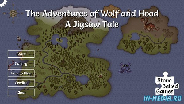 The Adventures of Wolf and Hood: A Jigsaw Tale (2021) ENG