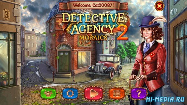 Detective Agency Mosaics 2 (2021) ENG