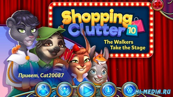 Shopping Clutter 10: The Walkers Take the Stage (2021) RUS