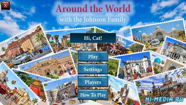 Around the World with the Johnson Family (2021) ENG