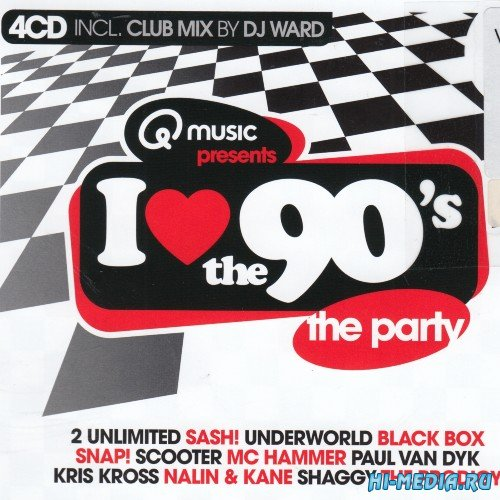 VA - I Love The 90s: The Home Party Edition (4 CD) (2021)