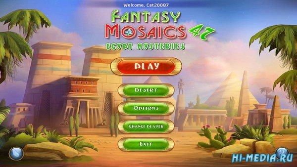 Fantasy Mosaics 47: Egypt Mysteries (2021) ENG