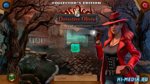 Detective Olivia: The Cult of Whisperers Collector's Edition (2021) ENG