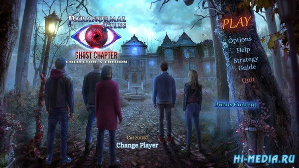 Paranormal Files 7: Ghost Chapter Collectors Edition (2021) ENG