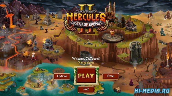 The Chronicles of Hercules II: Wrath of Kronos (2021) ENG