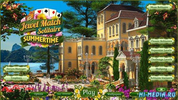 Jewel Match Solitaire: Summertime (2021) ENG