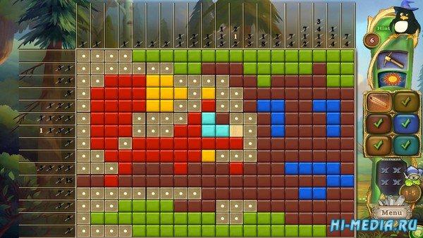 Fantasy Mosaics 48: Gnomes Puzzles (2021) ENG