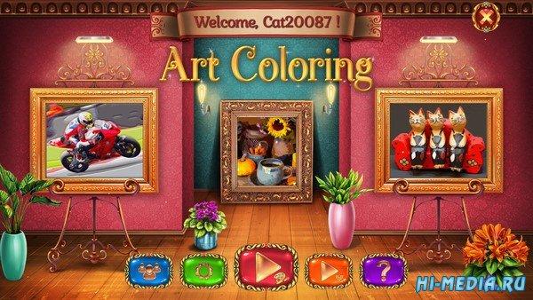 Art Coloring (2021) ENG