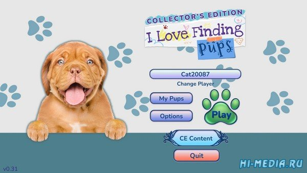 I Love Finding Pups Collector's Edition (2021) ENG