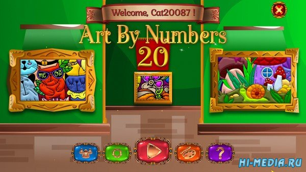 Art by Numbers 20 (2021) ENG